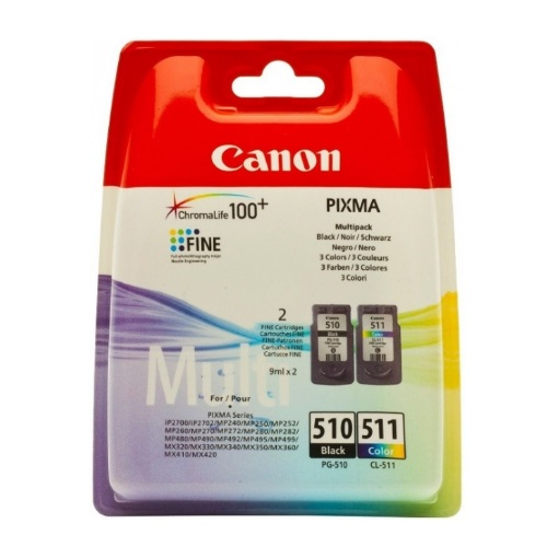 Multipack Originale Canon Nero e Colore Serie PG510-CL511