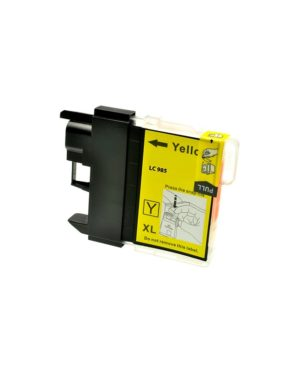 CARTUCCIA COMPATIBILE GIALLO BROTHER SERIE LC-985Y